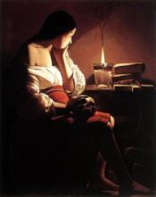 Magdalene with the Smoking Mirror, Georges De La Tour, 1640