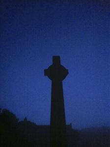 Iona Cross, Full Moon, August 21 2013