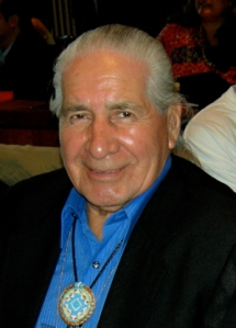 Oren Lyons, Elder and Faithkeeper of the Turtle Clan, Seneca Nations, Iroquois Confederacy, U.S. Image: One World (see image link below).