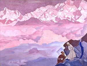 She Who Leads, 1924, by Nicholas Roerich. Nicholas Roerich Museum, New York, NY. www.roerich.org