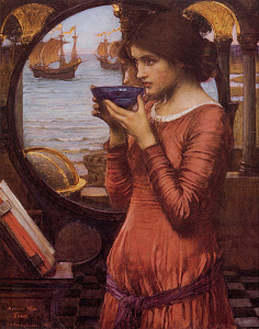 Destiny, 1900, by John William Waterhouse. Public domain image courtesy of Wikimedia.