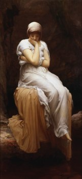 Solitude, 1890, by Frederick, Lord Leighton. Public domain image courtesy of Wikimedia.