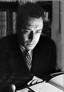 Albert Camus (1913-1960). Public Domain Image {PD-old-70}.