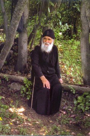 Elder Paisios of the Holy Mountain, Greece. Image from the Monks and Mermaids Benedictine blog. Do learn more about Elder Paisios ... beautiful.