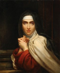 St. Theresa of Avila, 1827, by François Gérard (1770−1837). Public domain image courtesy of Wikimedia.