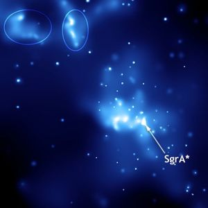 Sagittarius A at the Galactic Center. July 23, 2014. Image courtesy of The Chandra Observatory, NASA.