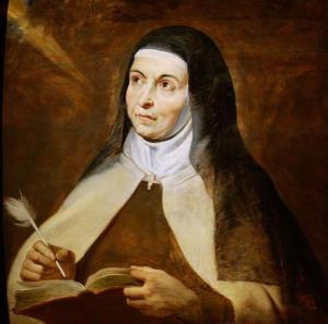 Teresa of Avila, 1615, by Peter Paul Rubens. Public Domain image courtesy of Wikimedia.