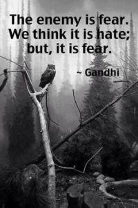 gandhi-fear