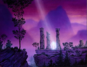 Ancient Abode, by Gilbert Williams. Copyrighted image shared with the artist's permission.