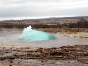 Geyser in Iceland. Public domain image courtesy of pd4pic.