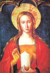 Ste. Marie Madaleine (Mary Magdalene), by Ludovico Brea. St.-Maximin-la-Sainte-Baume, France.