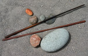 Sticks and Stones. Image courtesy of Public Domain Pictures.