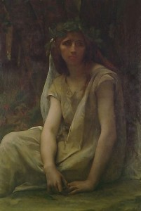 The Druidess, by Alexandre Cabanel (1823-1890). PD image.