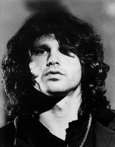 Jim Morrison, 1969. {PD-US} courtesy of Wikimedia.