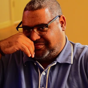 Chris Abani, author photo from chrisabani.com.