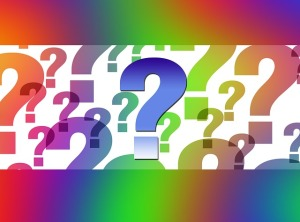 Colorful questions. PD image from PD4Pic.