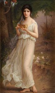 Pandora, 19th century, by Charles Amable Lenoir. PD-US, Wikimedia.
