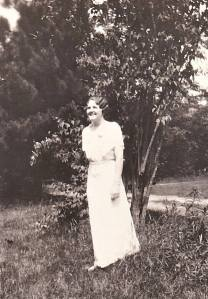 Young Helen at her college graduation ceremony.