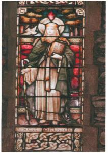 St.Brigid-stained-glass-window